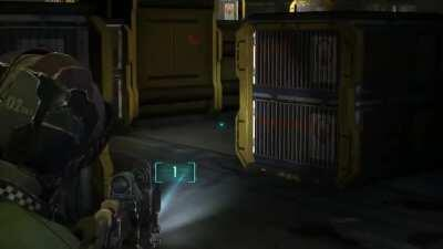 Was playing Dead Space 2 yesterday and got a wee bit spooked :)