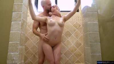 Melody Marks Hot Shower Sex