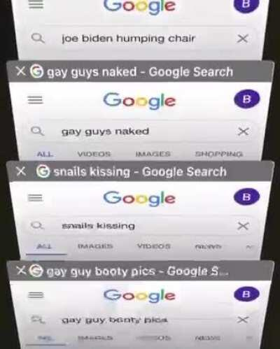 cursed search history