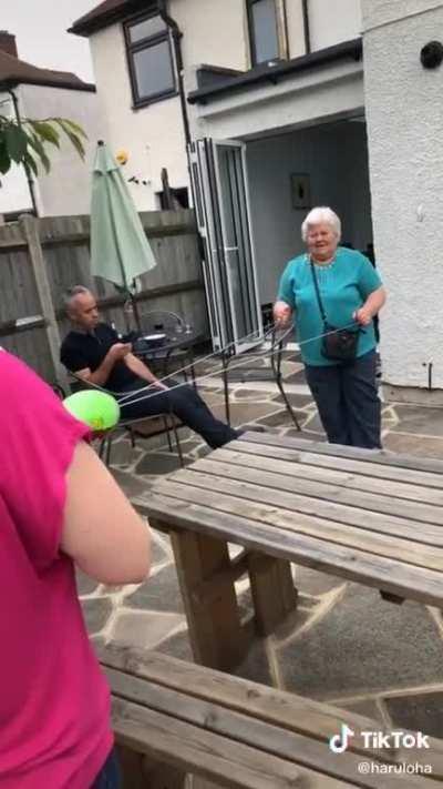 Poor granny :(