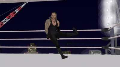 POV: You are about to face The Undertaker at WrestleMania