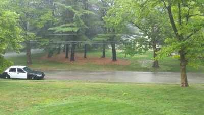 Rain from Tropical Storm Fay