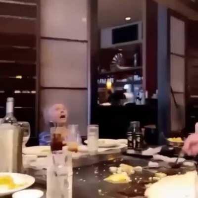 Have a shrimp Grandma