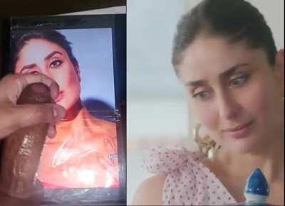 Bollywood Tribute - Kareena Kapoor Khan (Bebo) 👅🍑 sucking this big thick brown dick😈🍆 with her lusty lips💋 wrapped tightly around it. Would you want one of the hottest B-Town mommy sucking your cock? Comment below.😉💦