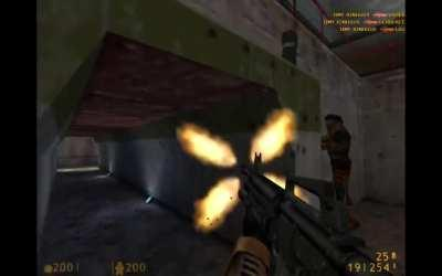 12 kills in 20 seconds on a custom Half Life 1 server