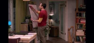 Sheldon's meltdown