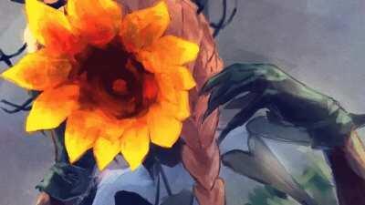 Van Gogh's Blooming Flowers
