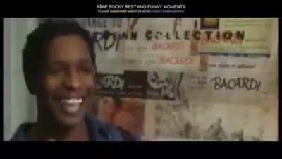 Found a recent A$AP Rocky fancam💀