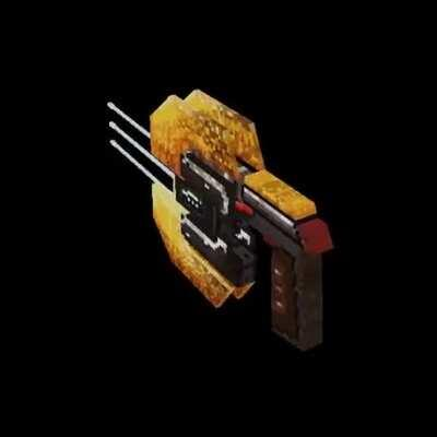 I've recreated the Plasma Cutter in PS1 style graphics and I tought you people may like this