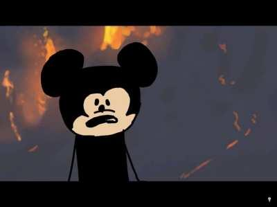 (Yes, this is the third post in like 5 minutes from me) Donald Duck burns