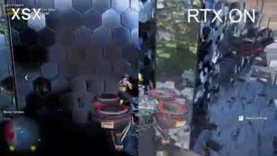 XSX Ray Tracing vs RTX - Watch Dogs Legion