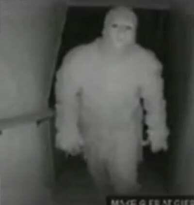 Found Papa on CCTV returning home from the shop.