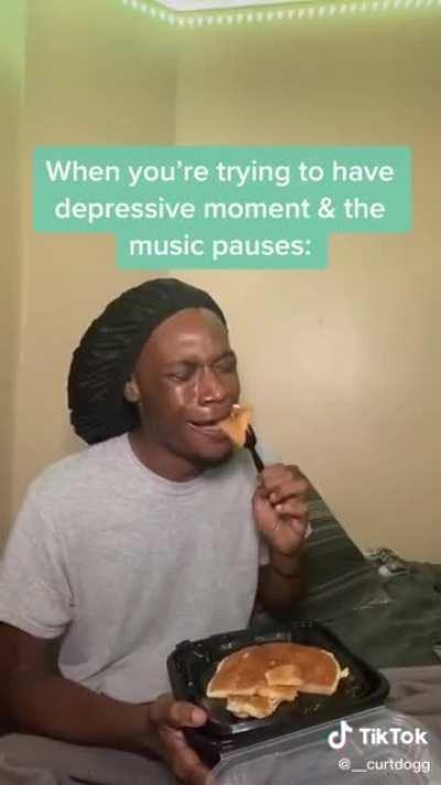 Lemme get my depression on