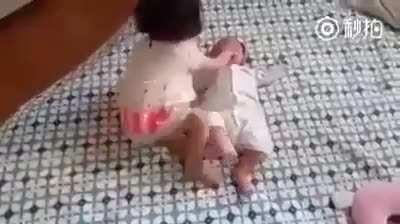 Baby slap
