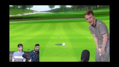 Hopcat also bad at golf haha(from