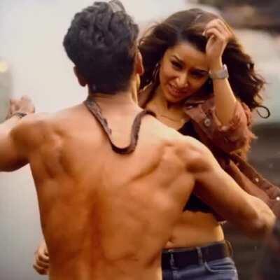 Shraddha Kapoor navel in Baaghi 3