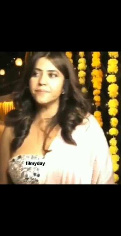 Ekta kapoor captured in a sexy look at a house party