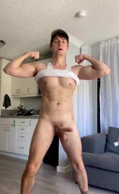 POV: you walk into the HS locker room after practice and see the bros playing around (19m)