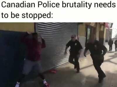 Stop resisting young man
