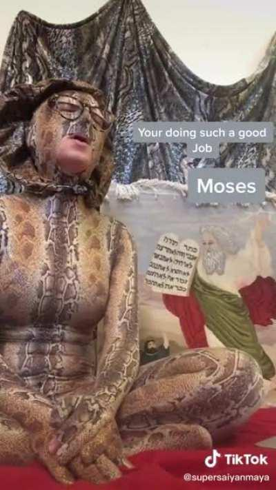 Moses Snake Staff
