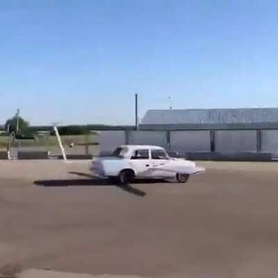 What could go wrong turning a car into a plane