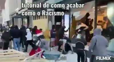 Como acabar com o racismo !