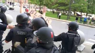This is why we protest, no one is safe