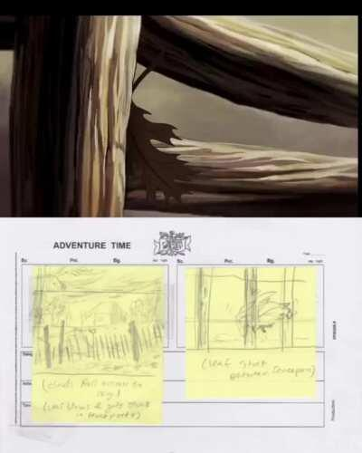 Different Storyboards and their end results.