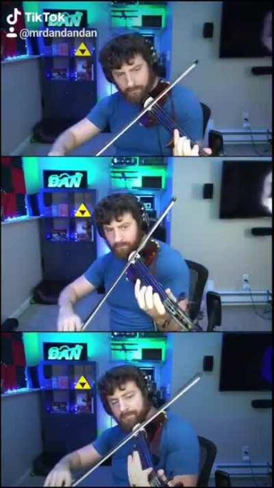 Song of Storms on Violin - Legend of Zelda Ocarina of Time