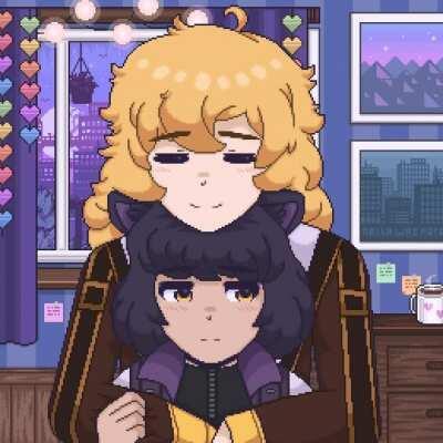 Bee hugs [NellaWasHere]