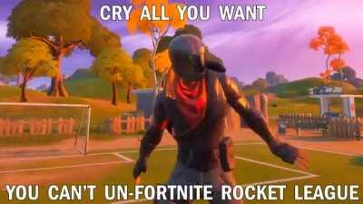 Dear every butthurt Rocket League player about today's collab: