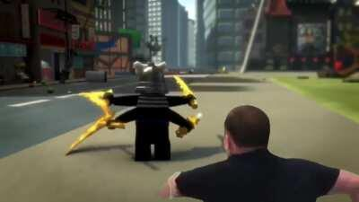 It turns out Garmadon was hiding the golden weapons in his farmadon, we need to hunt him down!