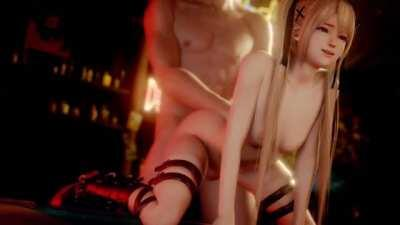 Marie Rose getting fucked at the bar (LazyProcrastinator) [Dead or Alive]