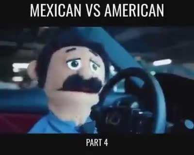 Mexican vs American - all rounds