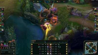 How to make Kayle afk and enemy team FF15