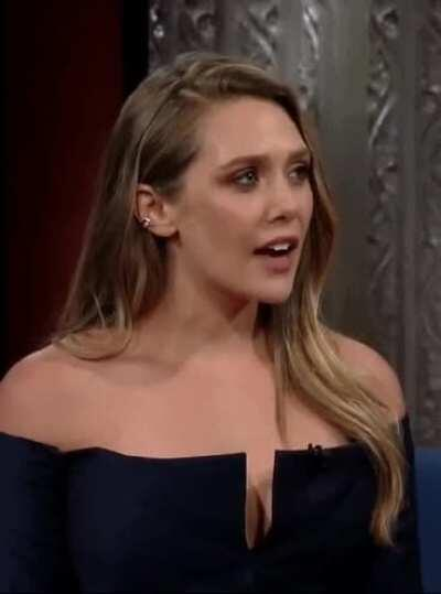 Elizabeth Olsen just makes me want to pound her holes