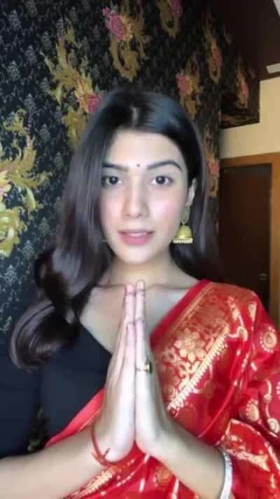 How fast your hindu wife changes her clothes and is down to getting fucked when you leave for office by wasim big musal cock and getting to become a complete whore hslut