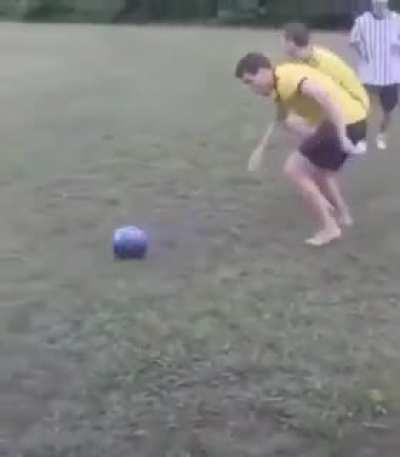 Bowling ball football