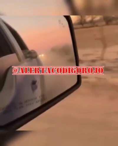 SICARIOS DE 'El Durango' riding through Sonora Mexico