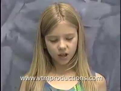Scarlett Johansson audition for the role of Judy Shepherd in Jumanji (1994)