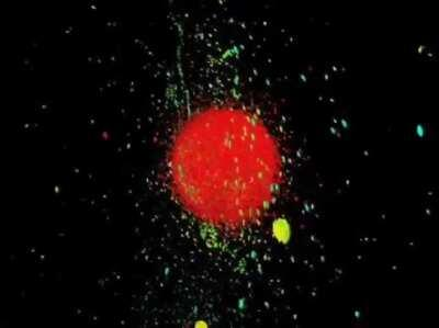 Mathematical Simulation of Planets Colliding