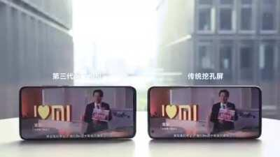 Xiaomi announced the third generation of under-screen camera technology and this time Xiaomi successfully managed to hide the camera. The phone in video below is a under-display camera version of the Mi 10 Ultra. This technology will be mass-produced in 2