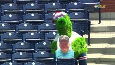 The Phanatic is adjusting well to the pandemic
