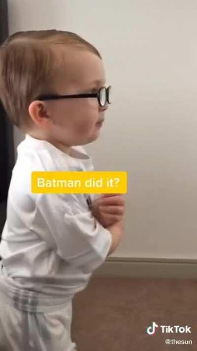 Batman did it