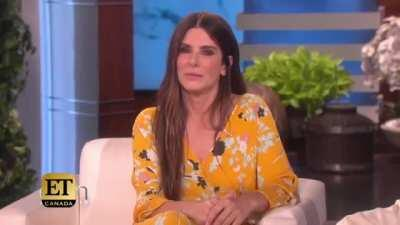 Sandra Bullock injects baby foreskin in her face for vanity