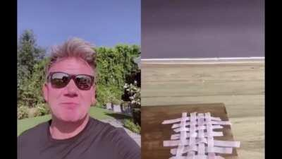Gordon Ramsay's TikTok is Gold.