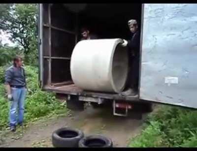 Safe transportation…