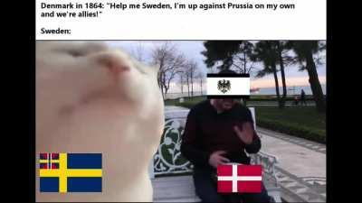 I know there were swedish volunteers, but still...