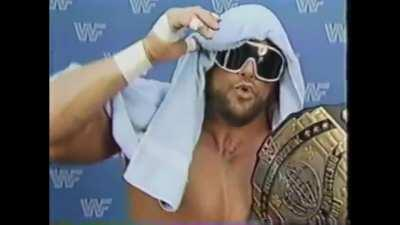 Today would have been Randy Savage's 68th birthday. In honor of his legend, I give you 7 minutes of 111% unstoppable Macho Madness. It took me 3 hours to cut and distill this glory.