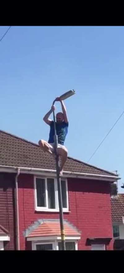 Hey everyone check out my acrobatic skills